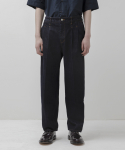 에이트디비젼() Pleated Jeans (Indigo)