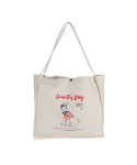 몽슈슈() Country Dog eco bag