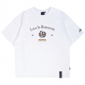 로맨틱크라운(ROMANTIC CROWN) LIFE IS ROMANTIC TEE_WHITE