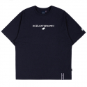 로맨틱크라운(ROMANTIC CROWN) RMTCRW LOGO TEE_NAVY