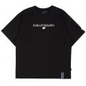 로맨틱크라운(ROMANTIC CROWN) RMTCRW LOGO TEE_BLACK