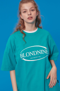 블론드나인(BLOND9) BLONDNINE WHITE CIRCLE T-SHIRTS_MINT