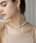 이오유스튜디오(EOU STUDIO) sophia pearl necklace