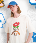 메인부스() Chip n Dale Present T-shirt(CREAM)