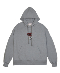 플레이노모어() I DON`T CARE hoodie grey