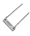엘리오티() 20ELTSM028 Silver Bar Necklace