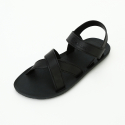 무츄() MC06 Cross Sandal Black-Black