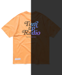 마하그리드(MAHAGRID) RAINBOW REFLECTIVE GROOVY TEE ORANGE(MG2AMMT509A)