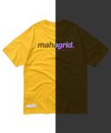 마하그리드(MAHAGRID) RAINBOW REFLECTIVE LOGO TEE YELLOW(MG2AMMT504A)