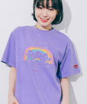 론론(RONRON) TRIPLE BEARS T-SHIRT PIGMENT PURPLE