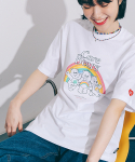 론론(RONRON) TRIPLE BEARS T-SHIRT WHITE