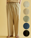 브릭(BRICK) SIMULATE LINEN AMPLE PANTS (5color)