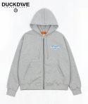 덕다이브() WORLD WIDE HOOD ZIP-UP GRAY