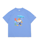 예스아이씨(YESEYESEE) Teddy Bear Tee Sky blue