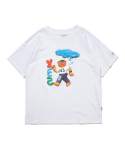 예스아이씨(YESEYESEE) Teddy Bear Tee White