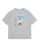 예스아이씨(YESEYESEE) Teddy Bear Tee Grey