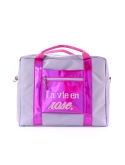 앙트레브(ENTRE REVES) LA VIE EN ROSE TRAVEL BAG