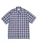 마크 곤잘레스(MARK GONZALES) M/G CHECK SHORTS SLEEVE SHIRTS CHECK