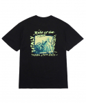 마크 곤잘레스(MARK GONZALES) M/G BICYCLE T-SHIRTS BLACK