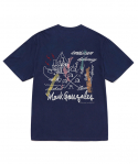 마크 곤잘레스(MARK GONZALES) M/G RECOAT T-SHIRTS NAVY
