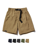 그루브라임(GROOVE RHYME) NYLON TASLAN BUCKLE HALF PANTS (5 COLOR) [GSP823I23]