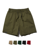 그루브라임(GROOVE RHYME) COTTON BASIC HALF PANTS (5 COLOR) [GSP824I23]