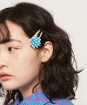 칸코(KANCO) KANCO X FRUTA AQUA FLOWER HAIR SNAP