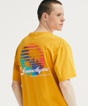 PALMTREE AT SUNSET T-SHIRTS (YELLOW) [GTS735I23YE]