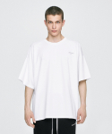 디프리크() Oversized T-Shirt - White