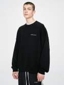 디프리크() Logo Sweatshirt - Black