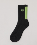 지아더아이엔지() G.I symbol logo socks BLACK