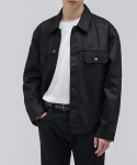브랜디드() 2005 NEW COATED DENIM JACKET [COATED BLACK]