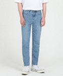 브랜디드(BRANDED) 1962 WHITE BLUE JEANS [CROP STRAIGHT]