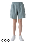 씨오큐(COQ) Banding cargo cotton shorts_light blue