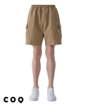 씨오큐() Banding cargo cotton shorts_beige