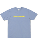 디스이즈네버댓(THISISNEVERTHAT) T-Logo Tee Light BlueGrey (002)
