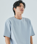 로맨틱 파이어리츠(ROMANTICPIRATES) ZERO SEMI OVER FIT T-SHIRT(SKY BLUE)