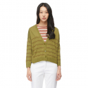 베네통() Metal stripe cardigan_118RE68762H2