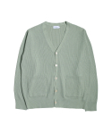 스테디 에브리웨어() Milano Rib Knit Cardigan (Light Olive)