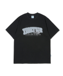 예스아이씨(YESEYESEE) Pop Logo Tee Black