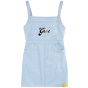 로맨틱크라운() GNAC OVERALL COTTON DRESS_SKY BLUE