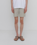 에이카화이트() SUMMER ESSENTIAL SHORTS-BEIGE