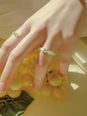 피오레() fruta heart jade ring