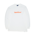 인터브리드() Interbreed Outline Logo LS Tee White