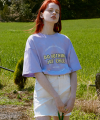 (TS-20303) DO NOTHING JUST CHILL T-SHIRT LAVENDER