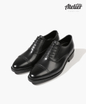 피렌체 아뜨리에() Tailor Atelier Round-Toe Punching Oxford SC102 [BLACK]