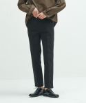 퍼스트플로어(FIRSTFLOOR) EASYGOING CROP PANTS (BLACK)