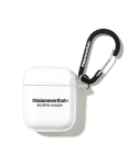 디스이즈네버댓(THISISNEVERTHAT) T-Logo AirPods Case Clear