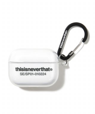 디스이즈네버댓(THISISNEVERTHAT) T-Logo AirPods Pro Case Clear