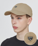 이벳필드() TWO TONE HOME BASE LOGO BALLCAP BEIGE